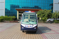 4 Seats Electric Freighy Cart Electric Hotel Buggy Car with Stainless Steel Cargo