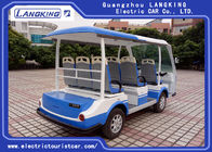 8 Seater Climbing Ability 18% Electric Tourist Car with Medical Chest for Airport