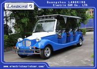 11 Seaters Classic Electric Vintage Cars With Cover / Safety Zipper For Hotel / Parks