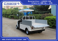 2 Seaters Electric Club Car , Electric Utility Carts 48V 3KW With Bucket 80km Range