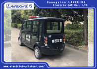 Black 6 Seater  Electric Patrol Car 18% Climbing Ability Load Model X065