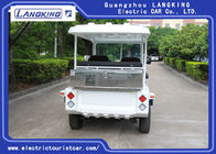 48V/4KW 5 Seater Electric Car , Electric Powered Utility Carts With Big Light On Roof