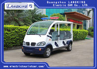 8 Seats Electric Pick Up Car With Alarm Lamp For City Walking Street