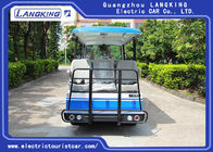 14 People Independent Seat Electric Sightseeing Bus Max.Speed 28 Km/H
