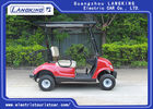 Solar Panels Roof Left Hand Drive Electric Golf Carts With Deep Recycle Batteries