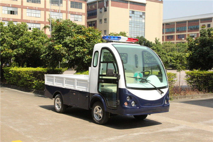 Transportation Electric Hotel Buggy Car 2 Seats With A Flat Fencing Cargo