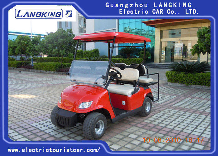 Powerful 4 Seater Electric Golf Carts Low Speed Electric Vehicles With ADC Motor