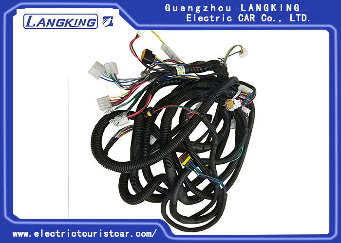 Black Club Car wiring harness , Electric Club Car/golf car /shuttle bus /freight car  Performance Parts