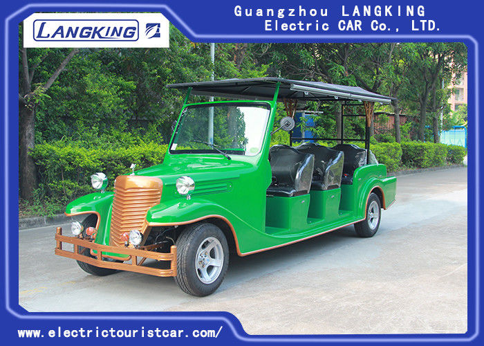 8 Seater 5KW Electric Vintage Cars Classic Retro Golf Cart Max. Speed 28km/h